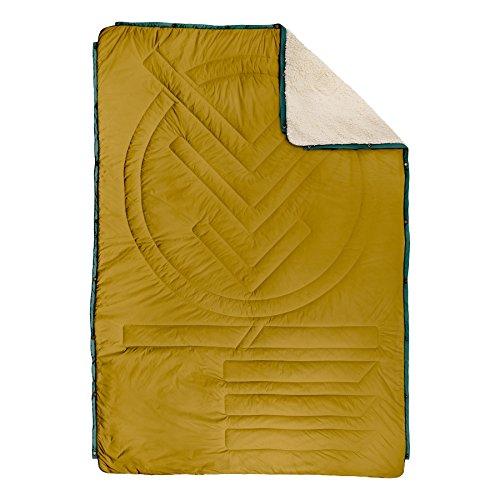 - VOITED CloudTouch Outdoor Pillow Blanket - Versatile Insulated & Water-Resistant Indoor/Outdoor Blanket for Travel, Van & Home (Harvest)