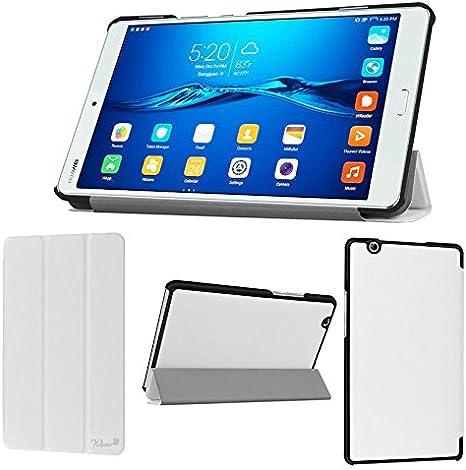wisers huawei mediapad m3 btv w09 btv dl09 housse coque de tablette 21 3 cm fin de type blanc