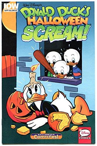 DONALD DUCK HALLOWEEN SCREAM #1 Halloween Comicfest, Promo, 2015, NM, IDW, Disney