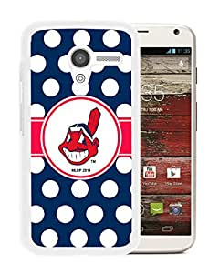 For Moto X,Cleveland Indians White Protective Case For Moto X