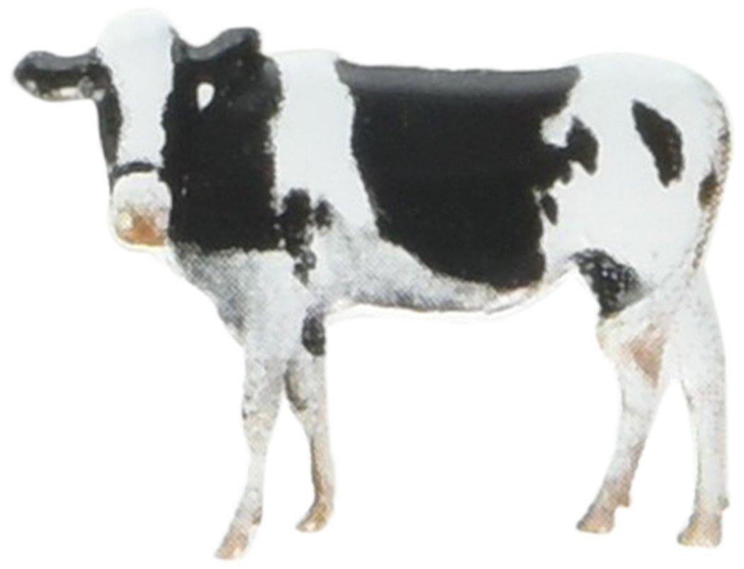 EYELET OUTLET Cow & Goat Shape Brads 12/Pkg 116