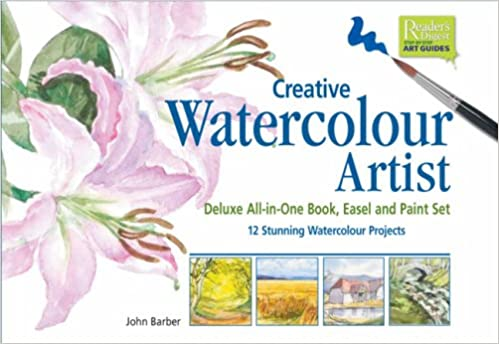 Creative Watercolour Artist: Deluxe All-in-One Book, Easel