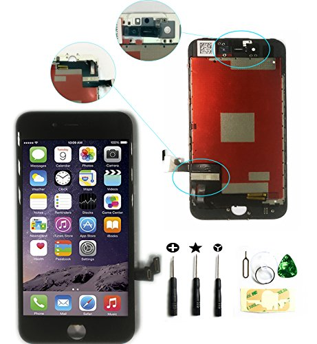 ZTR LCD Touch Screen Digitizer Frame Assembly Full Set LCD Touch Screen Replacement for iPhone 7 plus 5.5