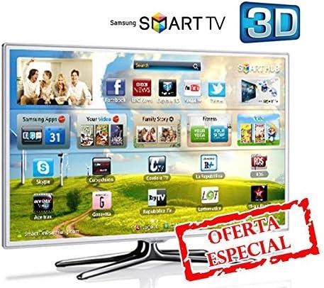 Samsung UE40ES6710 - Televisión LED de 40 pulgadas, Full HD (400 Hz), color blanco: Amazon.es: Electrónica
