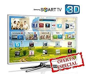 Samsung UE40ES6710 - Televisión LED de 40 pulgadas, Full HD (400 Hz), color blanco