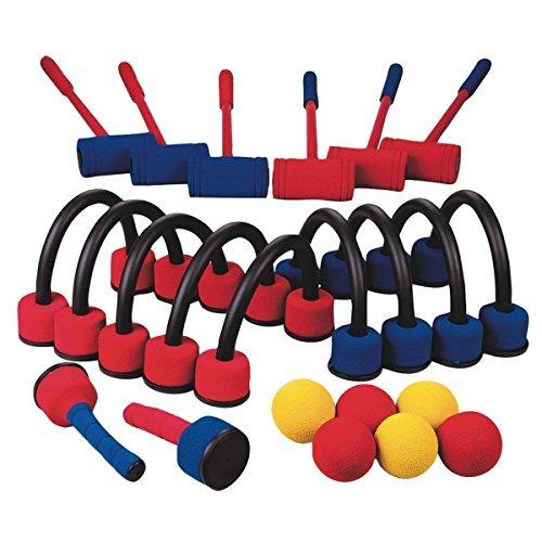 Foam Croquet Six-Player Set Foam Croquet Set