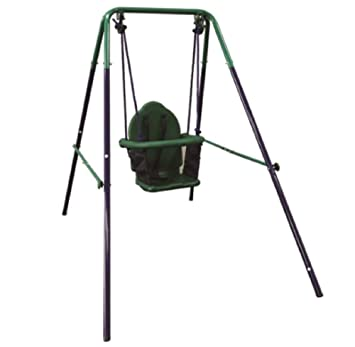 Amazon Com Toddler Baby Swing Portable Indoor Outdoor Folding