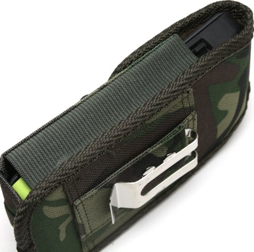 Rebono Camouflage / Camo Belt Holster Pouch With Metal ...