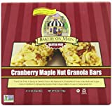 Bakery On Main Gluten Free Non-GMO Granola Bars, Cranberry Maple Nut, 5 Count (Pack of 6)