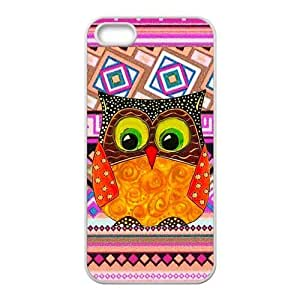 iPhone 5s Case,iPhone 5 Case, Owl Series Pattern Hard Back Cover Snap on Case for iPhone 5 / 5s