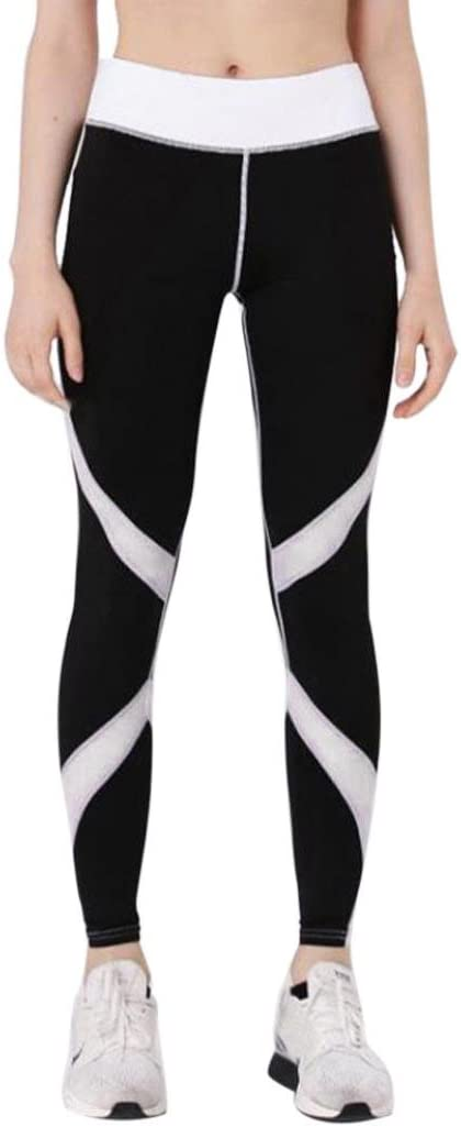 toamen mujeres pantalón de chándal slim Yoga Aptitude Gym Leggings ...