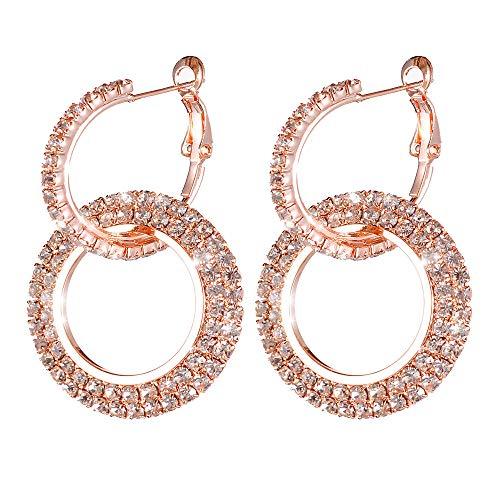 Celiy Earrings Silver Gold Rosegold