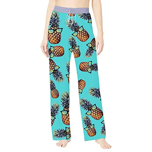 UOKNICE Jeans for Women Plus Size,Sports Wear Women's Summer Printed Comfortable Casual Beach Pajama Pants Sport Yoga Trousers