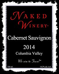 2014 Naked Cabernet Sauvignon, Columbia Valley Washington 750 mL Wine