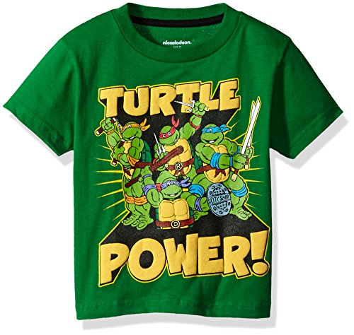 Nickelodeon Toddler Boys' Ninja Turtles T-Shirt, Kelly Green, 3T Ninja Green T-shirt