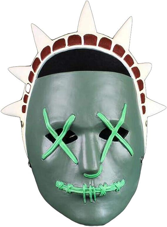 LIBWX Máscara de Resina The Purge 3 Cosplay Estatua de la ...