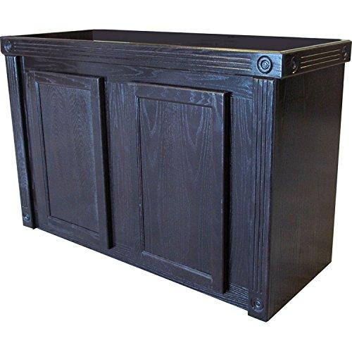 R&J Enterprises 48X18 Black Oak Empire Cabinet for 75/90/110 Gallon Glass Aquariums, 48.75'' L X 18.5'' X 32'' H by R&J Enterprises