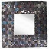 PTM Metal Basket Weave Mirror