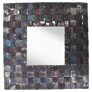 PTM Metal Basket Weave Mirror