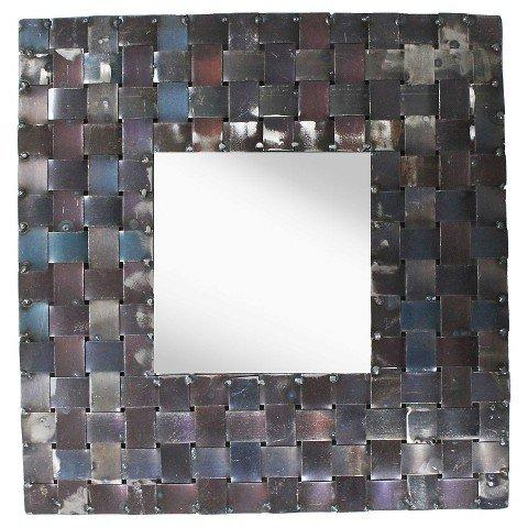 PTM Metal Basket Weave Mirror by ptm