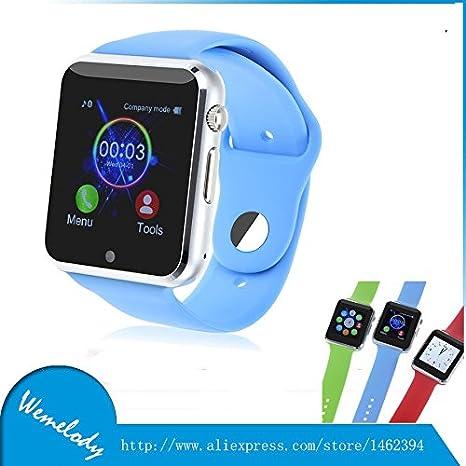 reloj inteligente ARBUYSHOP Nueva X9 bluetooth SmartWatch inteligente para el iPhone de Apple, para el reloj del reloj teléfono inteligente Android LG ...