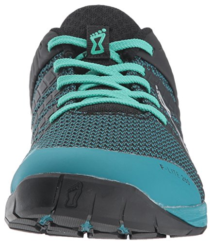 Lite W Trainer Inov Black 8 Teal Women's 260 Cross F Knit xRRYtwTqA
