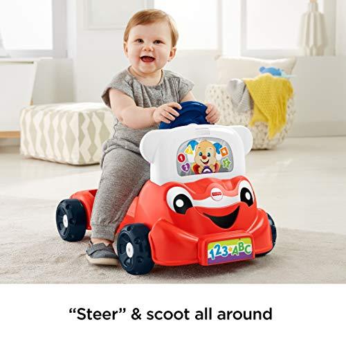 51YXm4xWEtL - Fisher-Price Laugh & Learn 3-in-1 Smart Car