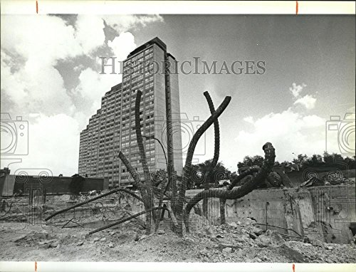 1985 Press Photo Devastation caused by the Mexico Earthquake - spa62229