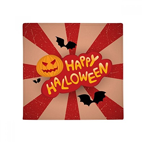 DIYthinker Cartoon Halloween Fonts Anti-Slip Floor Pet Mat Square Home Kitchen Door 80cm -