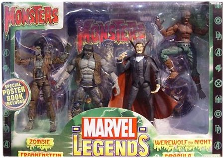 Toy Biz Marvel Legends Boxed Sets Monsters Action Figure Boxed Set ()