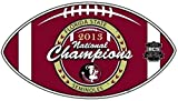 Fremont Die Florida State FSU NCAA Licensed 2013 National Champions Car/Truck Magnet