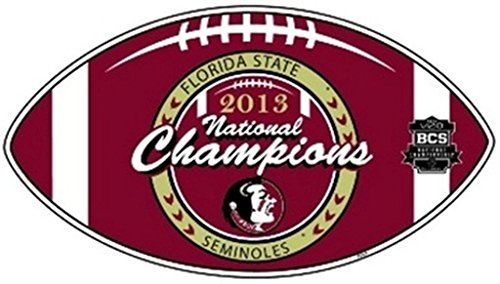 2013 Ncaa Football Champion - Fremont Die Florida State FSU NCAA Licensed 2013 National Champions Car/Truck Magnet