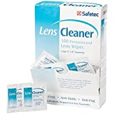 SAFETEC 37000 LENS CLEANER WIPE 100/PK (Pack of 2)