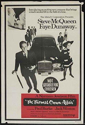 Pop Culture Graphics The Thomas Crown Affair Poster Australian 27x40 Steve McQueen Faye Dunaway Jack ()
