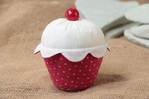 Beautiful Handmade Fabric Soft Pin Cushion Funny Designer Accessory Cake