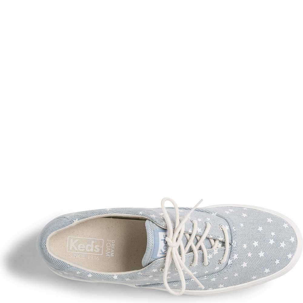 Keds Womens Rise Denim Star Casual Athletic /& Sneakers