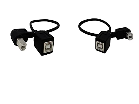 USB 2.0 tipo B cable de impresora, sinloon (lote de 2) USB 2.0 b ...