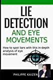 Lie detection and eye movements: How to spot a liar