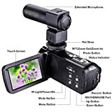 "KINGEAR HDV-301M 24MP HD 1080P 3.0"" LCD Screen Digital Video Camcorder With Microphone"