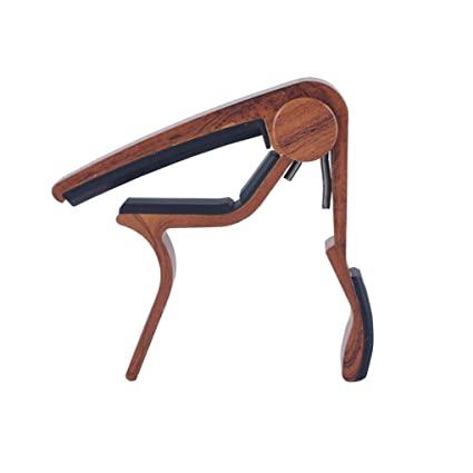 Level Wooden Color Quick Change Guitar Capo For Acoustic Guitar