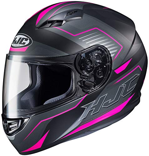 HJC Helmets CS-R3 Helmet - Trion (MEDIUM) (BLACK/PINK)