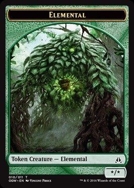 - Magic: the Gathering - Elemental (010/011) - Oath of the Gatewatch