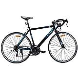 Goplus Commuter Bike Road Bike Quick Release Aluminum 700C Shimano 21 Speed