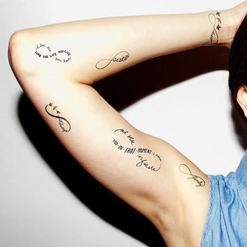 Tatuajes temporales Sweet Nothings (12 unidades): Tattify.com ...