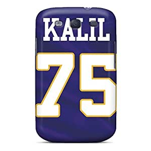 Fashion CBy2238cEhc Case Cover For Galaxy S3(minnesota Vikings)