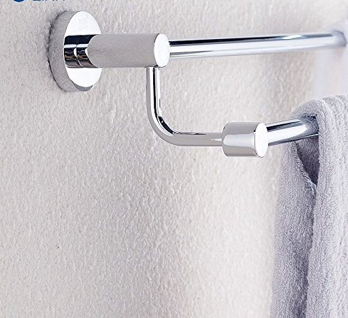 LVLIDAN Contemporary Towel bar Washroom rails stainless steel Double layer wall mounted 70cm