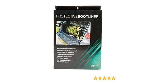 Mountney Universal Car Boot Liner Calzado de Exterior Negro, Negro, Talla Única
