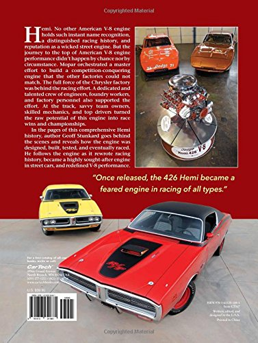 Hemi a history of chryslers iconic v 8 in competition geoff hemi a history of chryslers iconic v 8 in competition geoff stunkard 9781613251881 amazon books fandeluxe Image collections