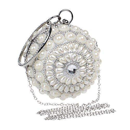 Or Yahuyaka Yahuyaka Pochette Femme pour Silver doré qw1BIvT