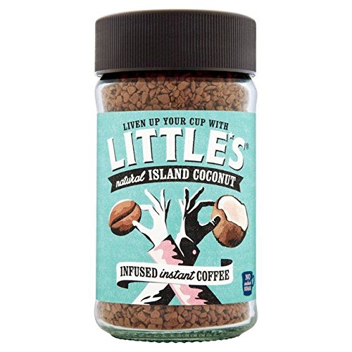 Little's Island Coconut Flavour Infused Instant Coffee - 50g (0.11lbs)
